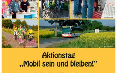 "Trefft uns live: Aktionstag ""Mobil sein, mobil bleiben"" in Balve – 16. Juni 2018"