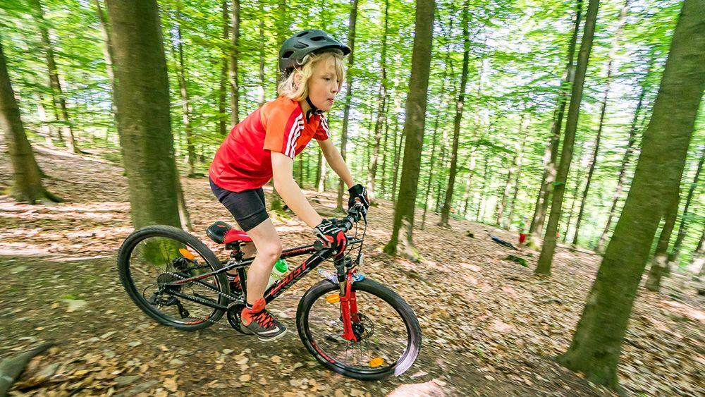 Vater-Sohn-MountainbikeCAMP Im Sauerland