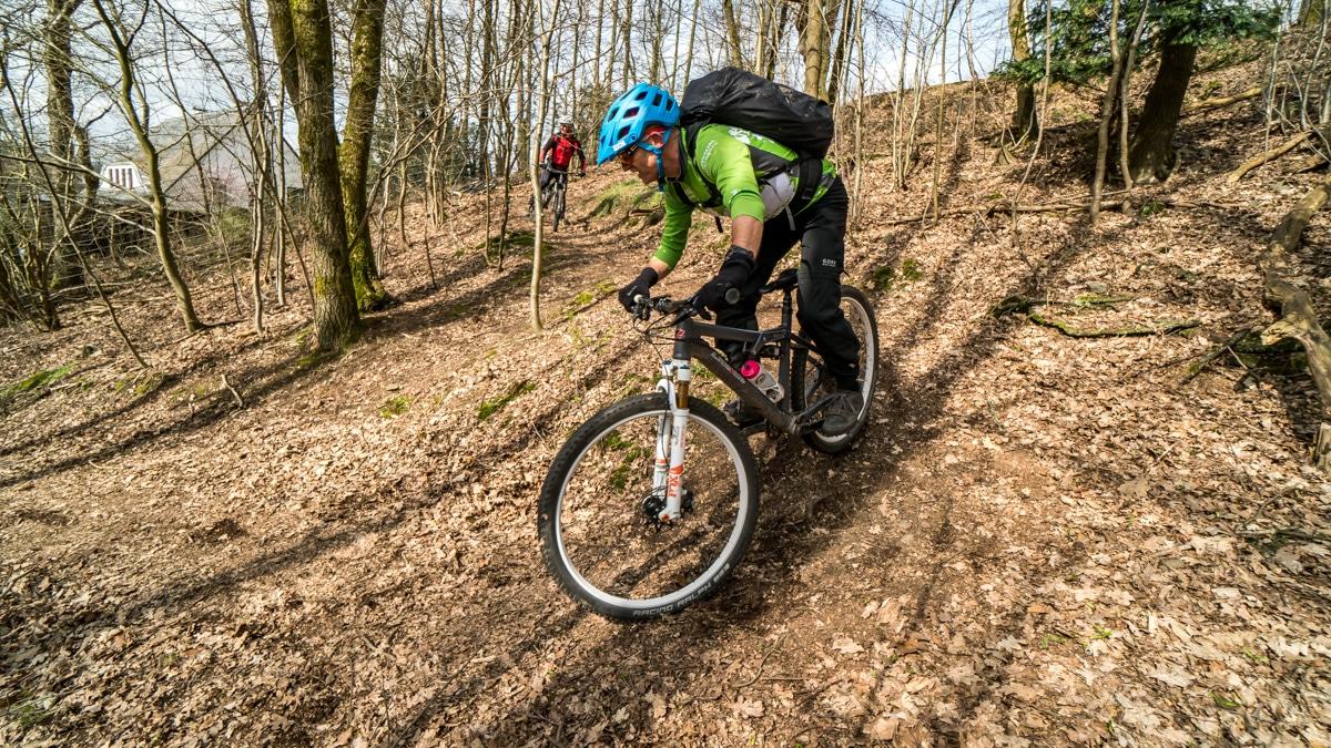 Kurven & Kehren - Intensivkurs Mountainbike- Bikeschule Sauerland
