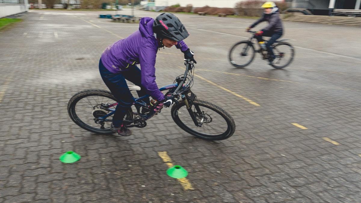 Kurventechnik - Workshop Kurven und Kehren Mountainbike